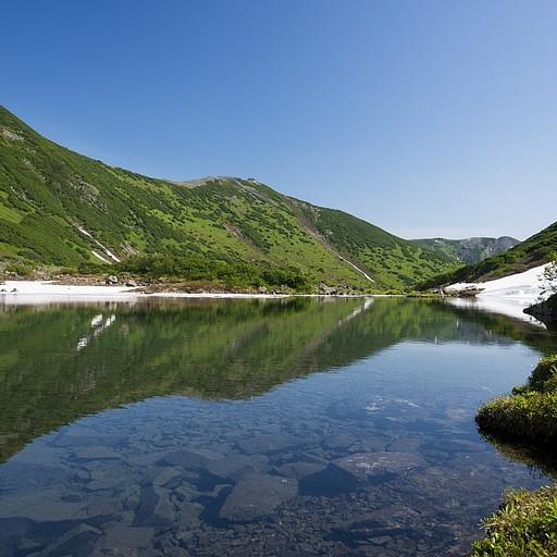 האגם הגדול מבין האגמים - מים צלולים משגעים