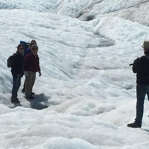 הולכים על הקרחון