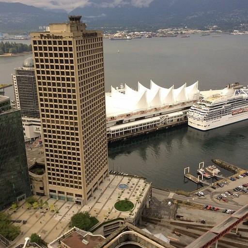 קנדה פלייס יציאת ספינת תענוגות לדרך
