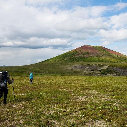 היעד של הטיול - גבעה אדמדמה