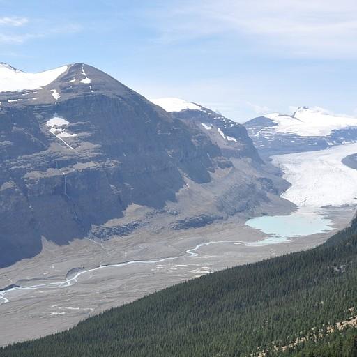 קרחון הנשקף מפארקר רידג'