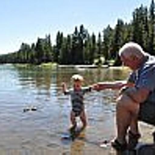 אגם  Maligne