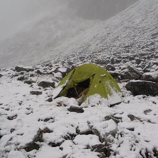 שלג לפני הפס לאגם אלאקול- מחוז קראקול