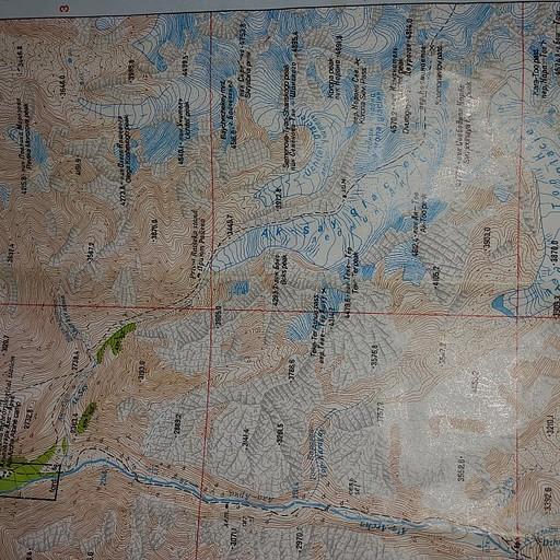 מפת השמורה
