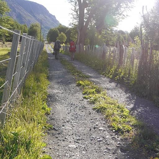 בדרך לחווה