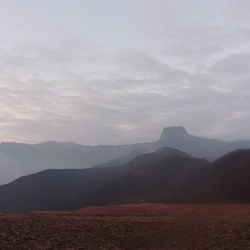 נוף לAmphitheatre מ-Witsieshoek