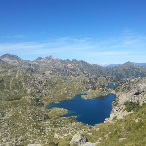 הנוף של האגמים