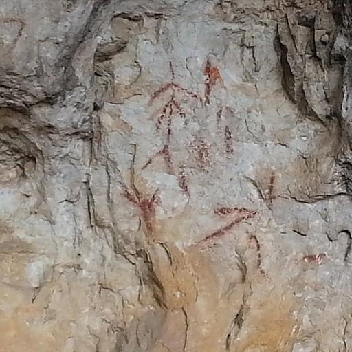 הציורים במערה השניה