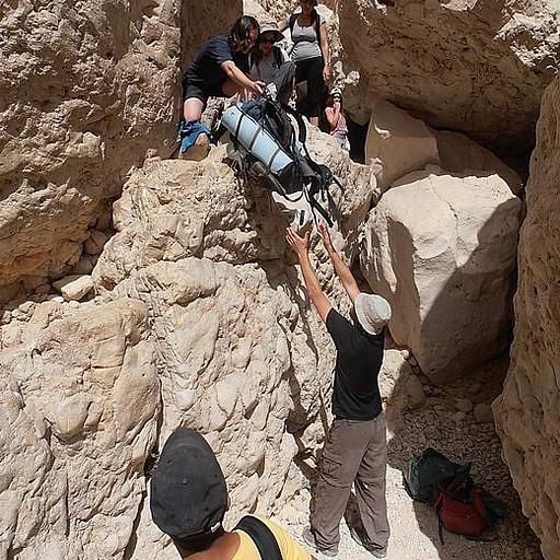 מדרגות סלע