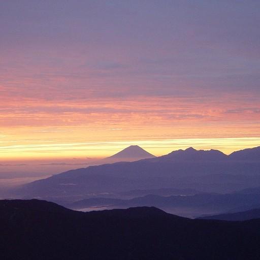 הר פוג'י סאן מהר יארי בזריחה