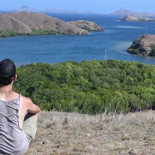 מפרץ ברינצ'ה עם נוף לשמורה