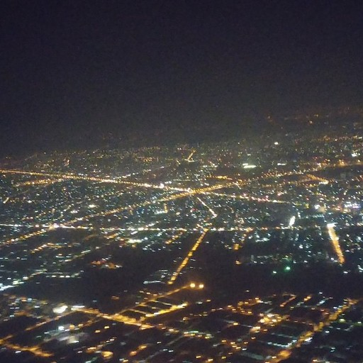 ובלילה מהמטוס