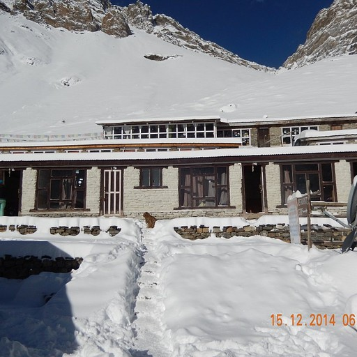 השלג בתורונג פדי לאחר יומיים