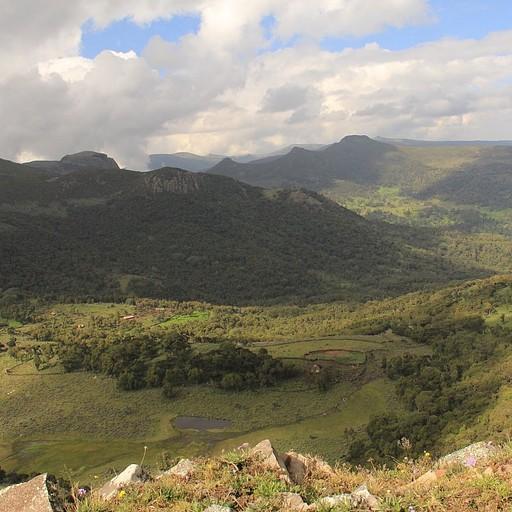 הנוף מTulu hangatu היום השלישי