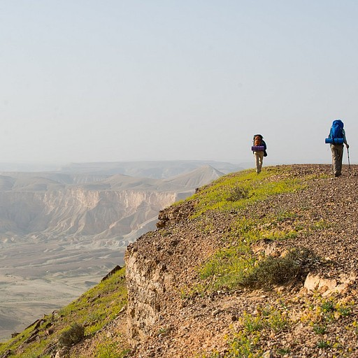 הר צרור - תצפית יפה על נחל צין