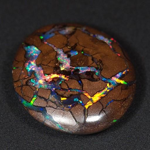 Boulder opal, כנראה מקורויט (מהאינטרנט)