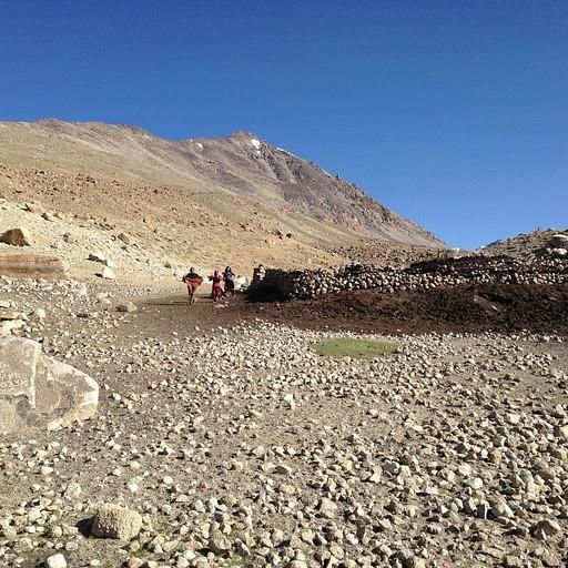מחנה הרועים שאחרי פיצול הנחלים הגדול