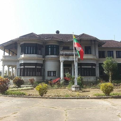 הבית לשעבר של הלורד הבריטי