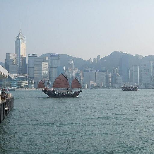 הנמל בהונג קונג