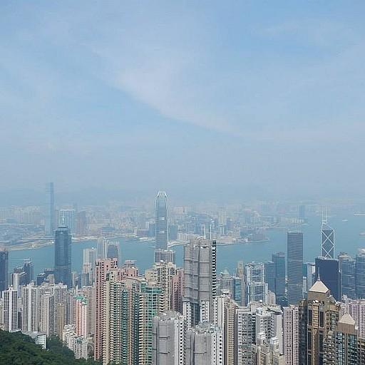 ויקטוריה פיק תצפית על הונג קונג