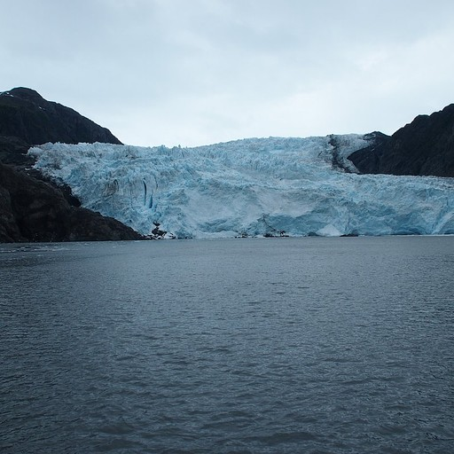 קרחון שנשפך לים - תצפית במהלך ההפלגה