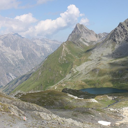 תצפית מהפס על Lacs De Fenetre