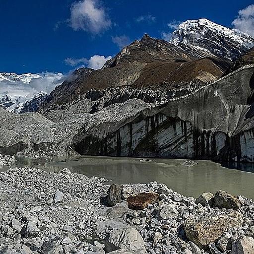 ההליכה בתוך הקרחון