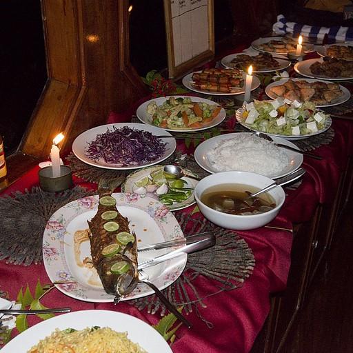 ארוחת ערב מיוחדת בסגנון מלדיביאני