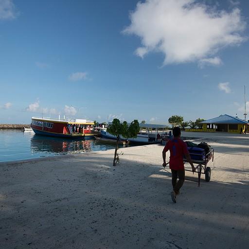 הנמל הקטן של האי