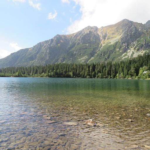 אגם popradske pleso