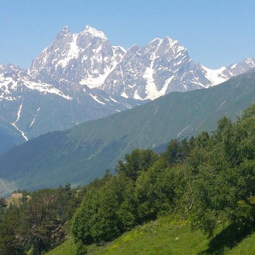 הנוף מהפס - הר אושבה