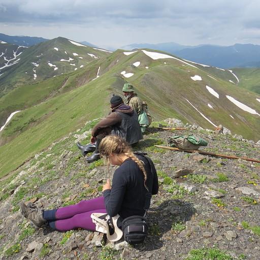 Sanaghele Pass, מפגש עם רועי הצאן