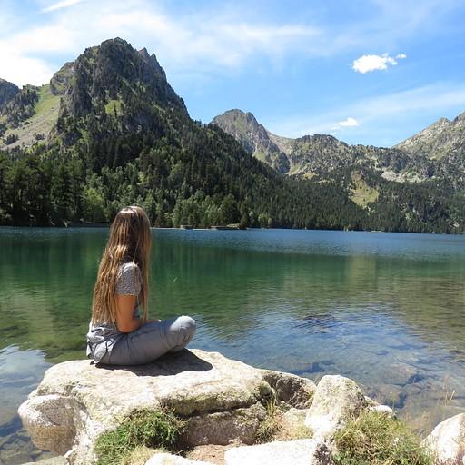 האגם המפורסם Estany de Sant Maurici