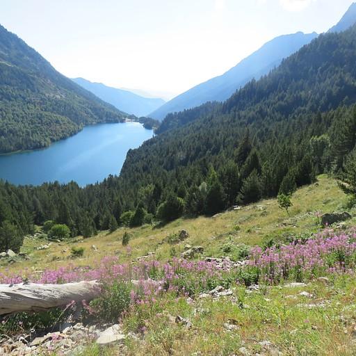 האגם Estany Maurici בפעם השנייה בטיול