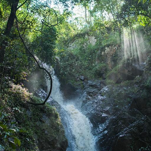 Mae Yen waterfall