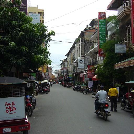 רחוב בפנום פן