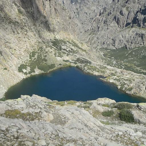 האגם העליון מקו הרכס