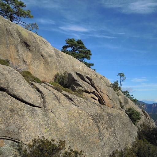 הסלעים לאחר כשעה וחצי