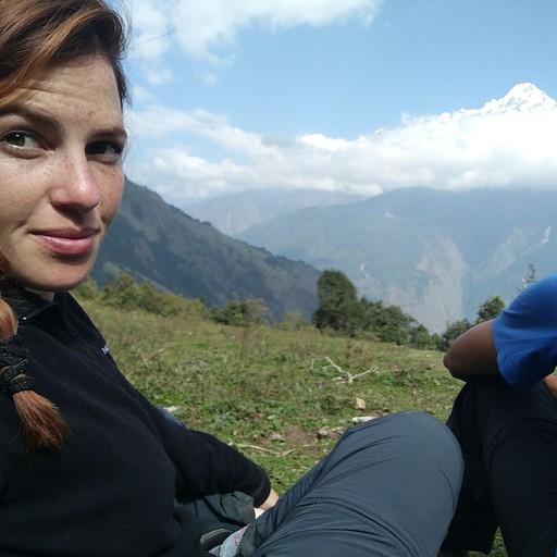 סלפי עם הר הלנגטנג