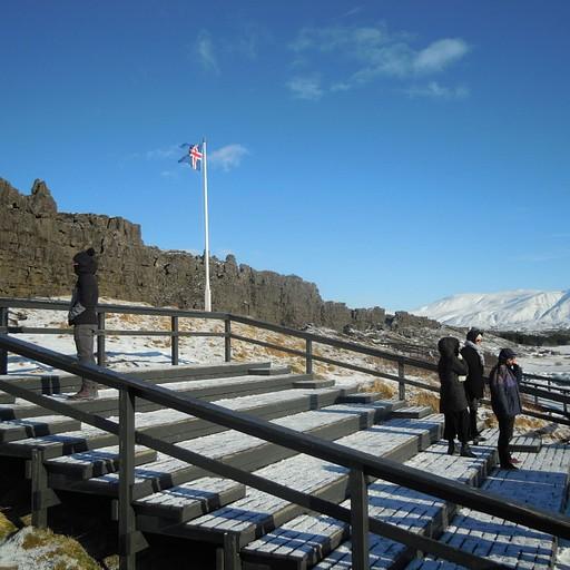 הפרלמנט האיסלנדי המקורי התכנס כאן