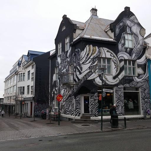בית יפה ברחוב Laugavegur