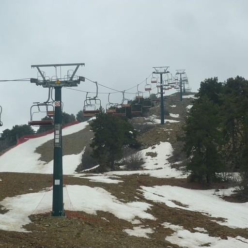 אתר הסקי היחיד בקפריסין!