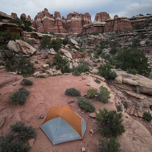 elephant  canyon 3 campsite