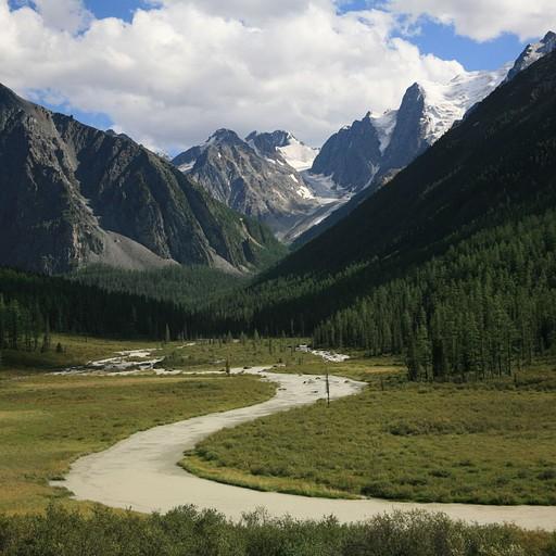 הנהר הגדול שזורם מדרום לצפון
