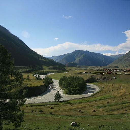 מבט לאחור על הכפר צ'יביט