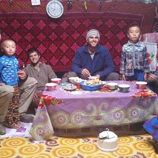 אירוח מונגולי