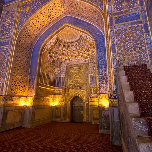 מסגד בתוך הרג'יסטן