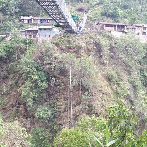 קפיצת הבנג'י מהגשר
