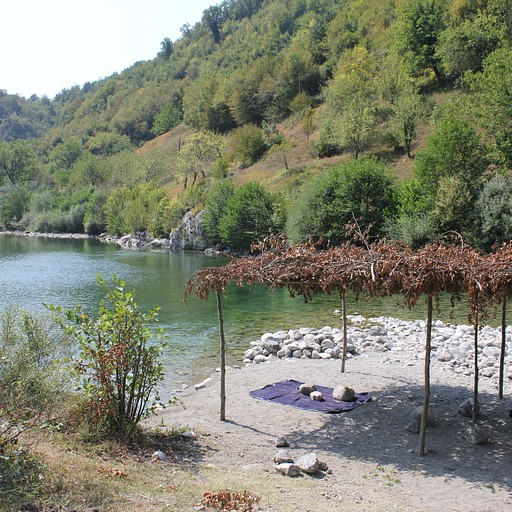 תחילת המסלול של קניון ה-Mrtvica