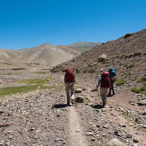 תחילת ההליכה על שביל ג׳יפים